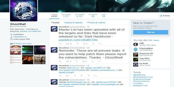GhostShell hackers return