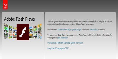 How to Disable Adobe Flash