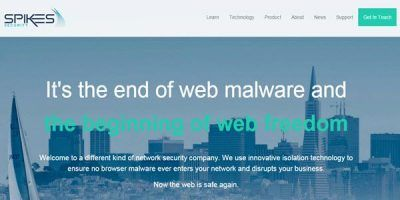 Spikes starts browser malware isolation