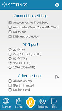 An image featuring the security of Trust Zone VPN