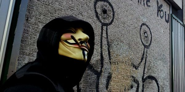 Anonymous hack ESA