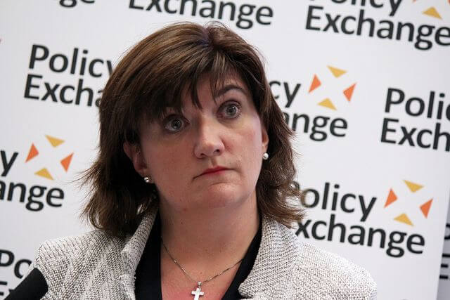 Nicky Morgan UK spying schools