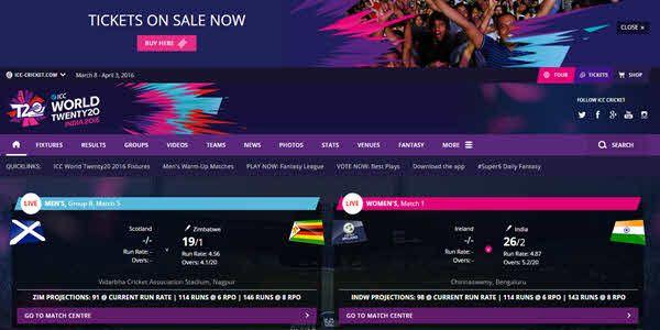 Watch ICC World Twenty20 Live Online