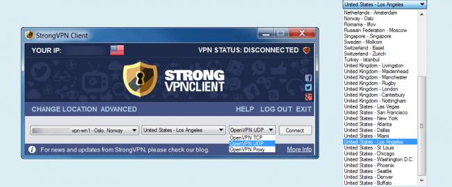 StrogVPN Client