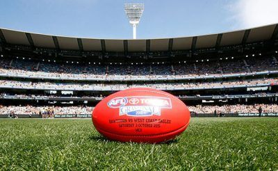 AFL Football in the MCG
