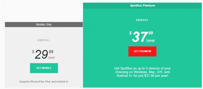 spotflux-vpn-price
