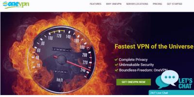 onevpn-homepage