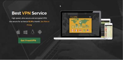 frootvpn-homepage