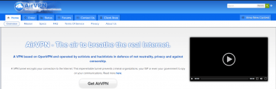 airvpn-homepage
