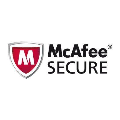 McAfeee Secure logo
