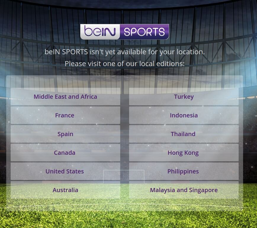 How to watch bein sports outside middle east ccuart Gallery