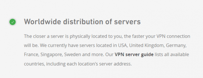 Mullvad-VPN-servers