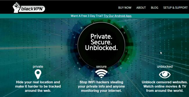 BlackVPN-homepage