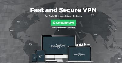 BulletVPN-homepage