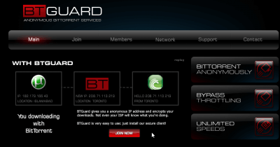 BTGuard_vpn_homepage