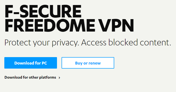 F Secure Freedome Review A Different Kind Of Vpn Service