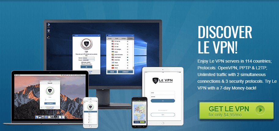 Le_VPN_homepage_official