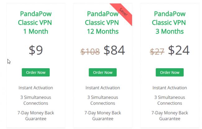PandaPow_Classic _price