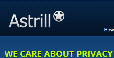 Astrill VPN homepage
