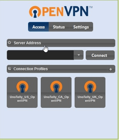 UnoVPN_user_interface