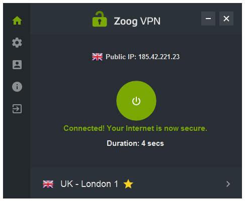 zoogVPN_main_menu