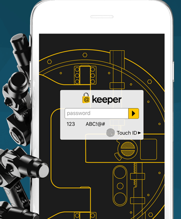 Keeper password manager and digital vault 10