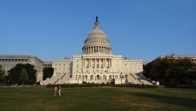 An image of the United States Capitol Building in Washington, D.C., United States