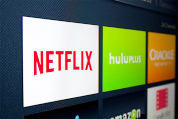 an image showcasing streaming services such as netflix and hulu