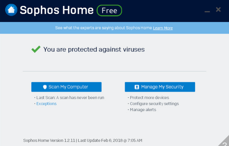 Sophos Home Free Review (The Complete Edition With Pictures)