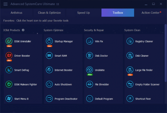 - Selection 008 650x441 - IObit Advanced SystemCare Ultimate Review (With Screeshots)