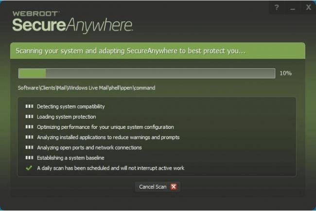 menu  - menu 1 650x434 - Webroot SecureAnywhere Antivirus Complete Review