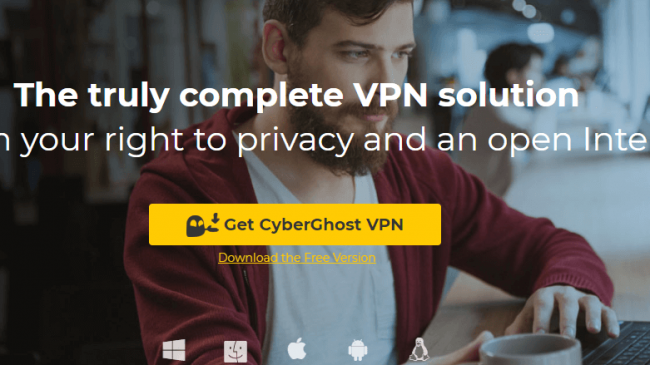 cyberghost  - cyberghost 650x365 - How To Set Up A VPN on Your Chromebook