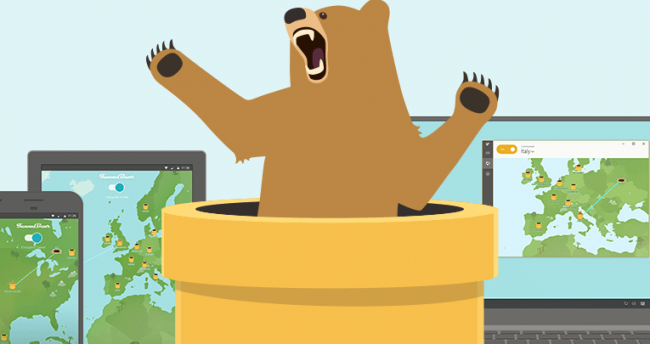 tunnelbear  - tunnelbear 650x344 - How To Set Up A VPN on Your Chromebook