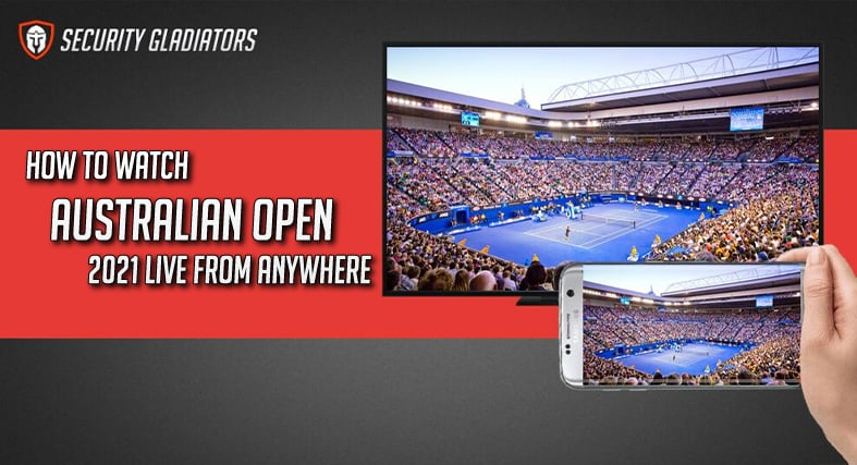 An image featuring how to watch Australian open live stream 2021