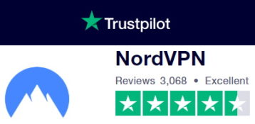 NordVPN Trust Pilot Score