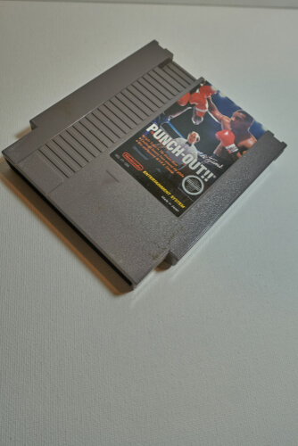 Nintendo Entertainment System Cartridge with Punch-Out!