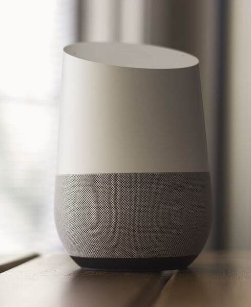 Google_Home_sitting_on_table