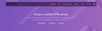 AzireVPN Review: The Complete Edition