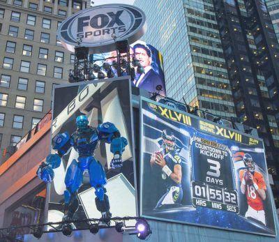 Fox Sports bilboard.