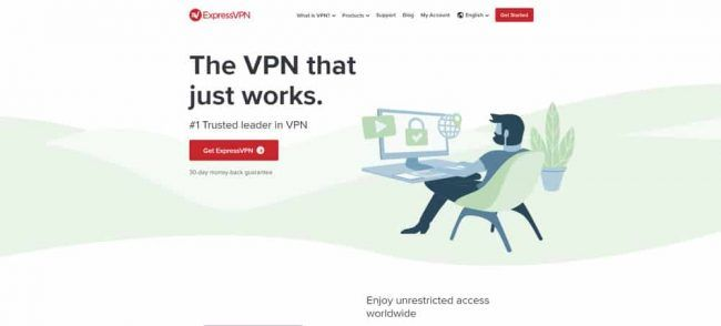 ExpressVPN screenshot