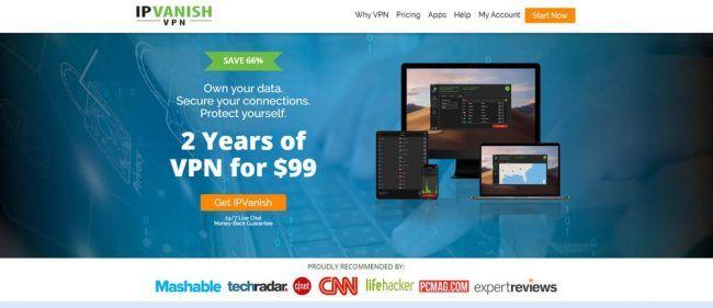 IPVanish Screenshot