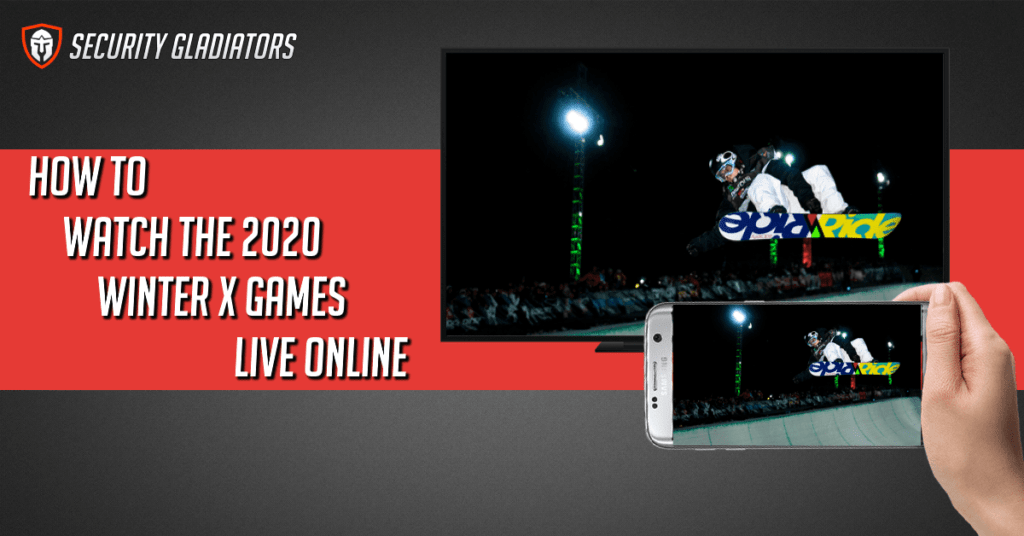 Streaming the winter x games on your phone or tv
