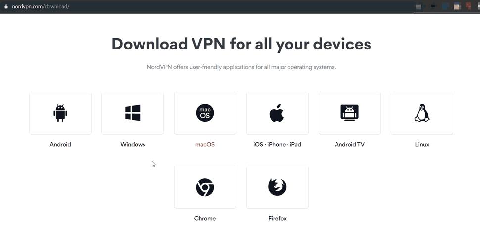 download NordVPN app