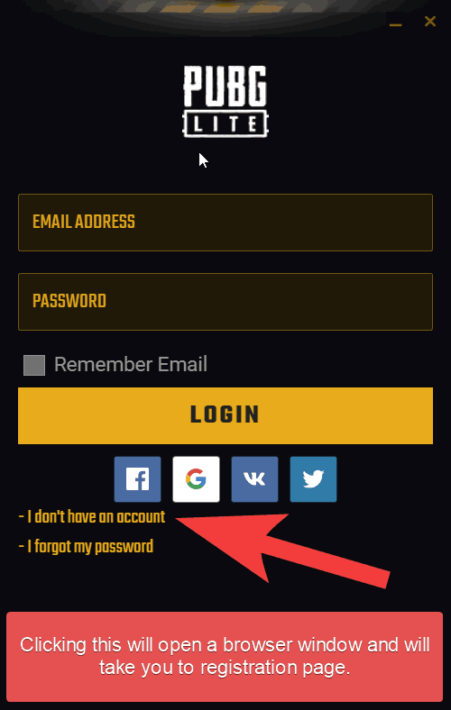 launcher registration link