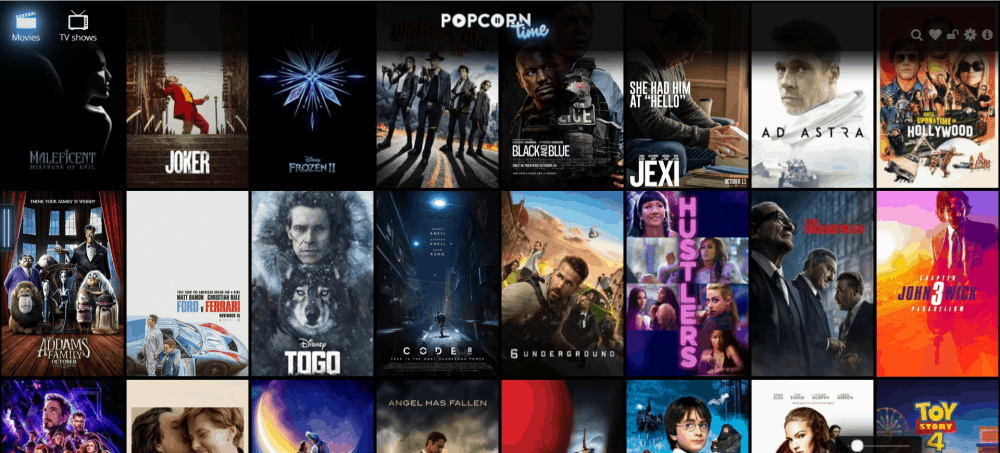 Popcorn Time Website