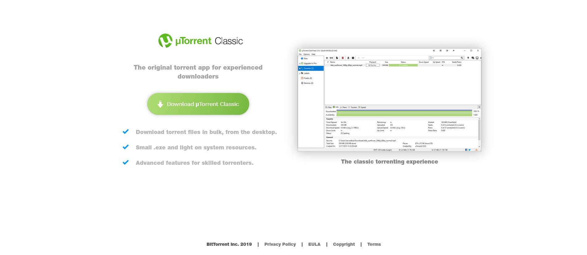 utorrent download page image