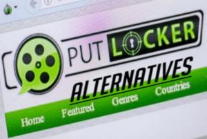 Putlocker logo and the word alternatives