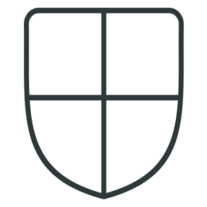a shield icon