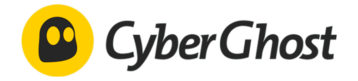 a logo of cyberghost vpn