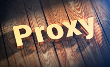 an image with the word proxy on it on a wooden background